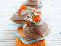 Mini-Fischpizzen Rezept