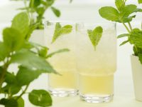 Minz-Bourbon-Drink Rezept