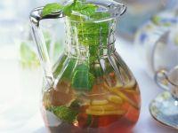 Minz-Zitronenlimonade Rezept
