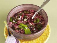 Minz-Zwiebel-Soße zum Lammbraten Rezept