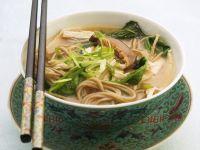 Misosuppe mit Sobanudeln Rezept