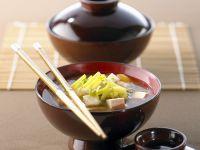 Misosuppe mit Tofu Rezept