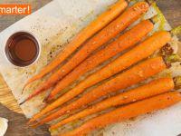 Mit Ahornsirup glasierte Karotten Rezept