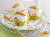 Möhren-Cupcakes