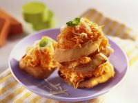 Möhren-Käse-Crostini Rezept