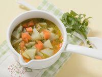 Möhren-Kohlrabi-Suppe Rezept