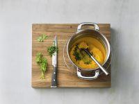Möhren-Koriander-Püree zubereiten