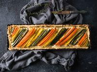 Möhren-Zucchini-Tarte Rezept