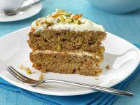Möhrenkuchen mit Mascarpone Rezept