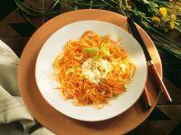 Möhrenspaghetti Rezept
