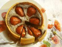 Mohn-Birnenkuchen Rezept