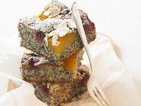 Mohn-Obst-Kuchen Rezept