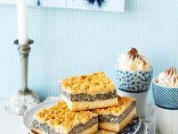 Mohnblechkuchen mit Streuseln Rezept