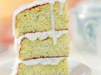 Mohnkuchen mit Zuckerguss Rezept
