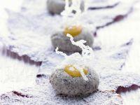 Mohnplätzchen mit Zitronencreme (Lemon Curd) Rezept