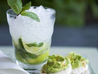 Mojito mit Häppchen Rezept