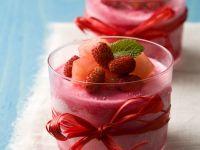 Mousse aus Erdbeeren Rezept