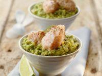 Mousse vom Lachs mit Avocadocreme Rezept