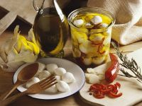 Mozzarella in Öl eingelegt Rezept