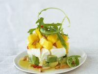 Mozzarella mit Avocado und Mango Rezept