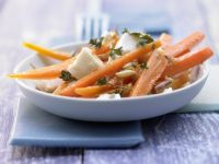 Mozzarella-Möhren-Salat Rezept