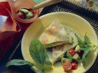 Mozzarella-Pesto-Tortillas Rezept