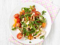 Mozzarellasalat mit Melone Rezept