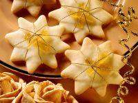 Mürbteig-Ingwer-Sterne Rezept