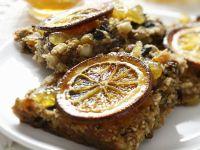 Müslischnitten mit Orangenkonfitüre Rezept