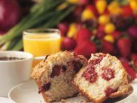 Muffins mit Erdbeeren Rezept