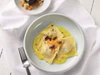 Muschel-Ravioli Rezept