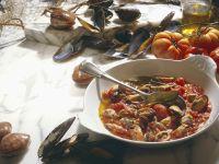 Muscheln in Tomatensauce Rezept