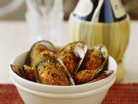 Muscheln mit Mandel-Paprika-Kruste Überbacken Rezept