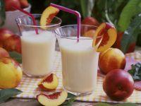 Nektarinenmilch Rezept