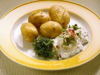 Neue Kartoffeln mit Frühlingsquark Rezept