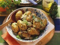 Neue Kartoffeln mit Knoblauch