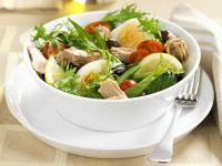 Nizza-Salat mit Thunfisch Rezept