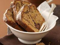 Nougatkuchen mit Kaffee und Amarenakirschen Rezept