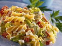 Nudel-Gemüse-Salat Rezept