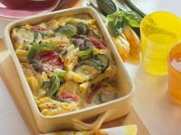 Nudel-Gemüseauflauf Rezept