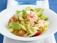 Nudel-Shrimpssalat Rezept