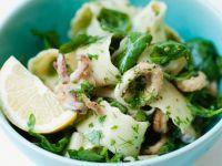 Nudel-Tintenfisch-Salat Rezept