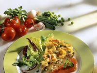 Nudelauflauf mit Tomatensauce Rezept