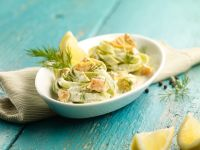 Nudeln mit Lachs und Kresse Rezept