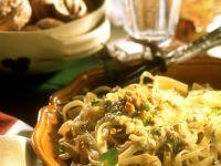 Nudeln mit Nuss-Pesto Rezept