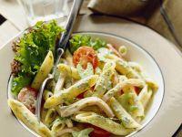 Nudeln mit Wurst und Gemüse Rezept