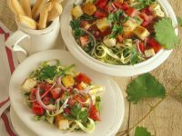 Nudelsalat mit Gemüse