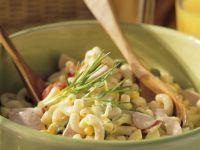 Nudelsalat mit Mayonnaise Rezept