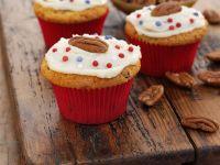 Nuss-Cupcakes Rezept