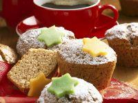 Nuss-Muffins mit Marzipan Rezept